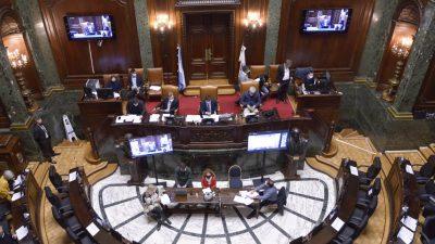 """CABA – Aprueban llamar """"Presidente Alfonsín"""" a la autopista del bajo"""