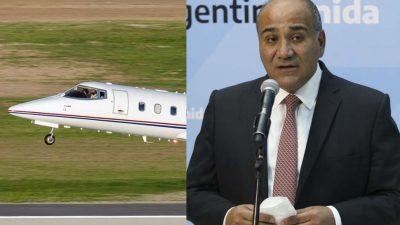 Juntos por el Cambio repudió el uso del avión sanitario de Tucumán para el viaje del Jefe de Gabinete a Nueva York