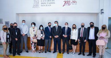 Fue presentado en San Juan el movimiento Parlamento y Fe