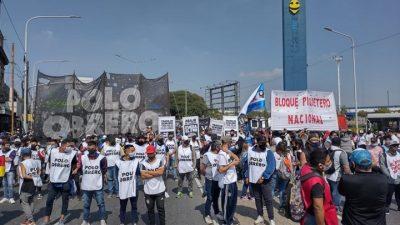 Cortes y Protestas: Romina del Pla explicó los motivos por los cuales reclaman las Organizaciones Sociales (Video)